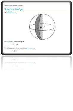 Spherical Wedge Maths